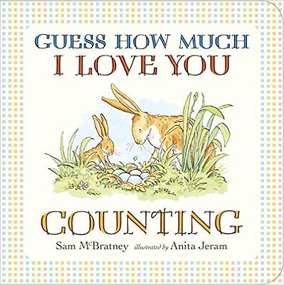 Guess How Much I Love You: Counting, New, McBratney, Sam Book