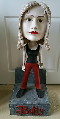 This Is A 3Ft Tall Buffy Bobblehead. It Is A Rare Shop Display Item.