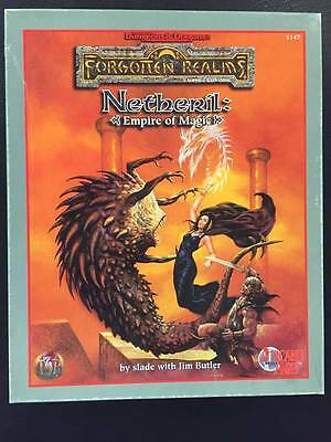 Netheril Empire of Magic Forgotten Realms Advanced Dungeons and Dragons