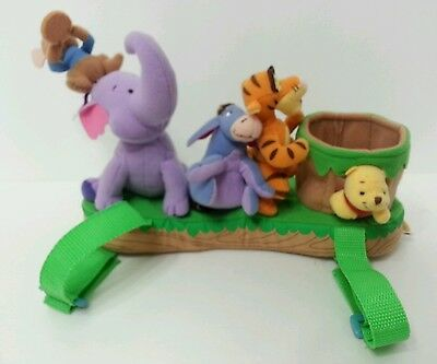 Infantino Disney Winnie the Pooh & Friends Sip Play Plush Stroller Rattle Toy