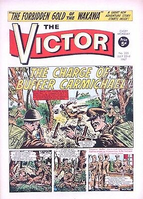 VICTOR - 22nd JULY 1967 (17 - 23 July) - RARE 50th BIRTHDAY GIFT !! VG+....eagle
