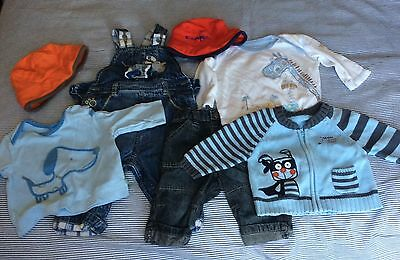 Bundle of Boys Baby Clothes 0-3 months M&S Next Tu George River Island 30 items