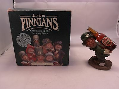 Rare BARNEY THE STRONG 44490 declan's Finnians Hand painted Figurine Blarney