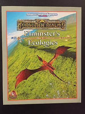 Elminster's Ecologies Advanced Dungeons and Dragons 2nd Edition