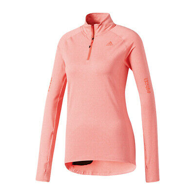 adidas Supernova 1/2 Zip Running Damen Rosa