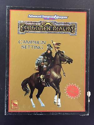 Campaign Setting New Edition Forgotten Realms Advanced Dungeons and Dragons 2nd