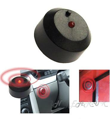 Car alarm dummy light flashing LED flashes red Battery operated STICK ON!