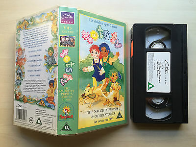 Tots Tv - The Naughty Puppies - Vhs Video