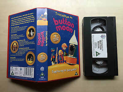 Touchdown On Button Moon - Vhs Video