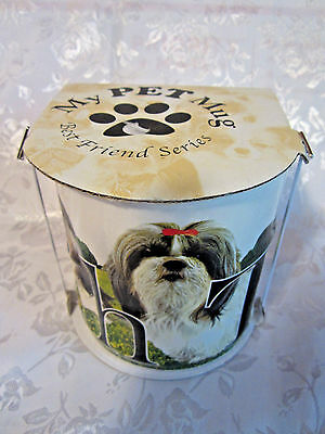 My Pet Mug Best Friends Series large 18 oz Shih Tzu dog mug new in box