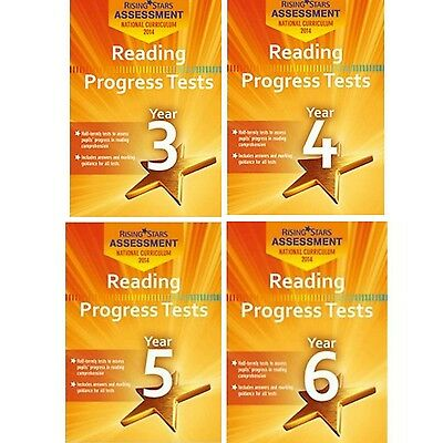 Rising Stars Reading Progress Tests Year 3,4,5 OR 6 CD-ROM(not paperback books)
