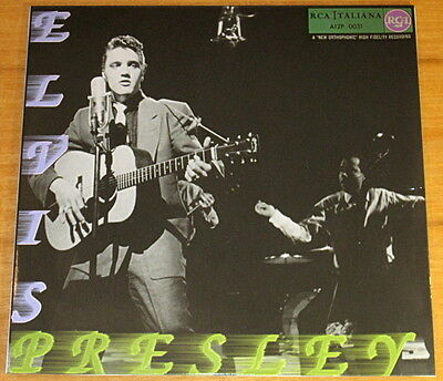 Elvis A12P-0031 ONE OF KIND Italy only LP : FAN CLUB SPECIAL PS w/ Oct-1956 disc