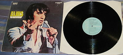 "Elvis VG+/M- PORTUGAL only RCA Camden LP ""It's Now Or Never"" PTCS-1016"