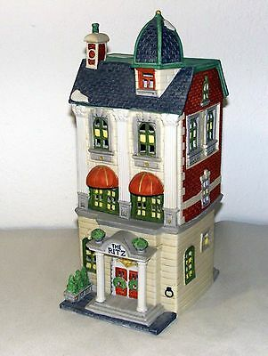 Dept 56 The RITZ HOTEL -Christmas in the City Village Collection - 1989