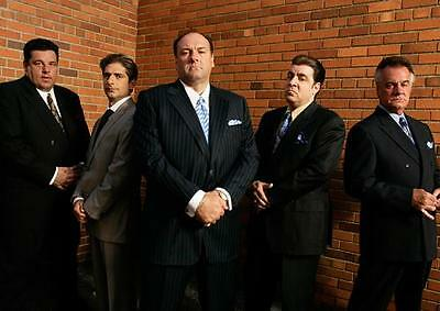 THE SOPRANOS POSTER Gangsters Mafia Series Season Art Print Photo Poster A4 A3