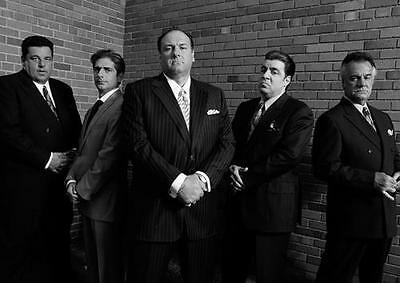 THE SOPRANOS POSTER Gangsters Mafia Season Series Art Print Photo Poster A4 A3