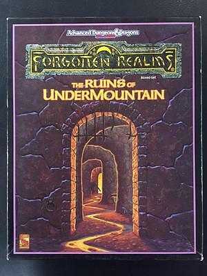The Ruins of Undermountain Forgotten Realms Advanced Dungeons and Dragons 2nd Ed