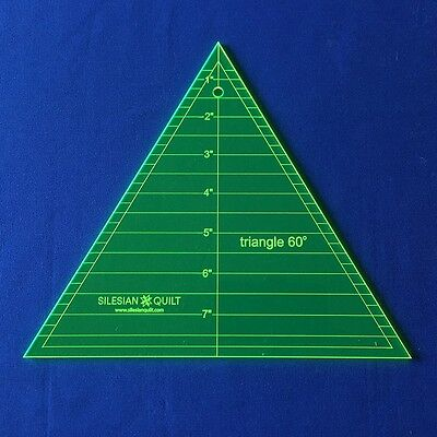Template for Patchwork: Triangle 60 deegre 8 inches