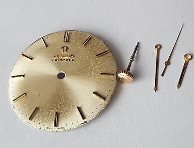 Omega  cal 552 dial  stem crown and hands set