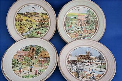 PURBECK POTTERY Set Four Seasons Coasters