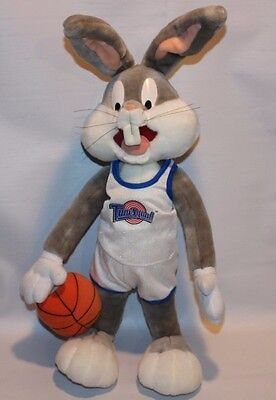1996 Space Jams Bugs Bunny Basketball Plush 1996 Applause Inc 20""