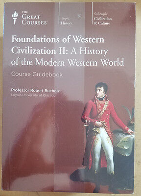 Great Courses FOUNDATIONS OF WESTERN CIVILIZATION II CD set w/guidebook NEW