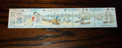 Australia Mint Stamps Bicentennary Of Australian Settlement (6Th Issue) 13.5.87