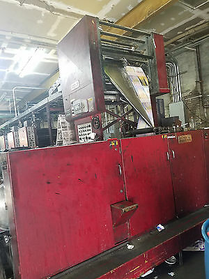 Color King Coldset Web Offset Press 8 Unit With Folder And Drive