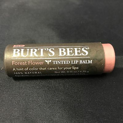 Burt's Bees Tinted Lip Balm 100% Natural ~ Forest Flower