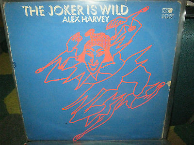 "Alex Harvey The Joker Is Wild 12"" Vinyl Lp Album / Metronome Records Mlp 15429"
