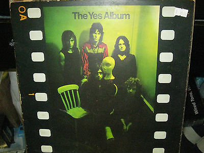 "The Yes Album  Original Plum Label  12"" Vinyl Lp Album / 2400 101"