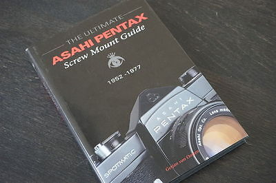 The Ultimate Asahi Pentax screw mount guide, Very rare book in superb condition