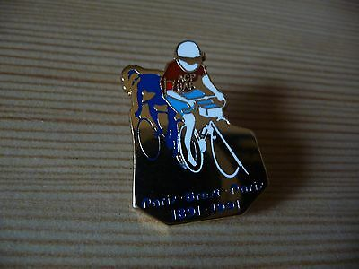 Pin's Cyclisme  Paris Brest Paris  1891  1991 . Tbe
