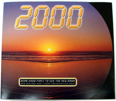 New Zealand 2000 Millennium Stamps Collectors Pack Full Sheet FDC Maxi Card MINT
