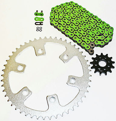 1992-2001 Honda Cr500R 500 R Green O Ring Chain And Sprocket 14/48 114L