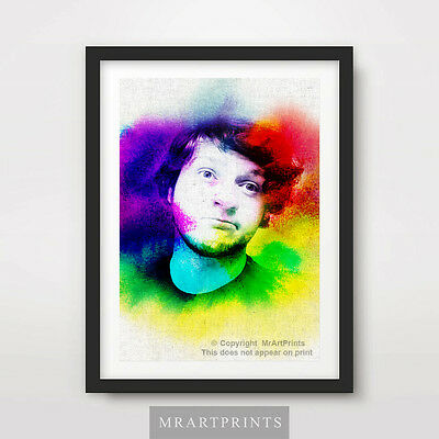 SkyDoesMinecraft Portrait Painting Art Print Poster A4 A3 A2 Youtube