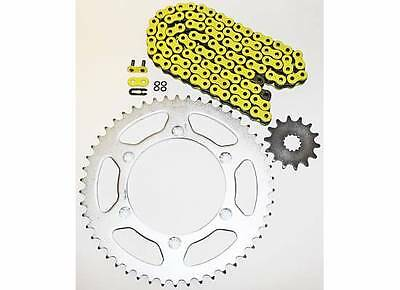 2007-2014 Yamaha Wr450F Wr 450 F Yellow O Ring Chain And Sprocket 14/52 120L