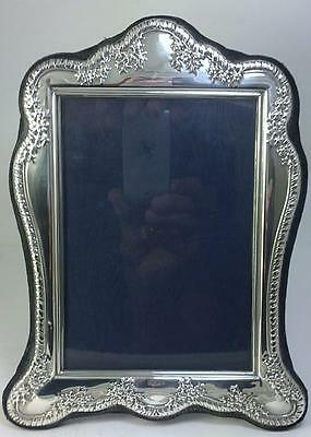 Vintage hallmarked Sterling Silver-fronted 22cm x 17cm Photo Frame – 1998