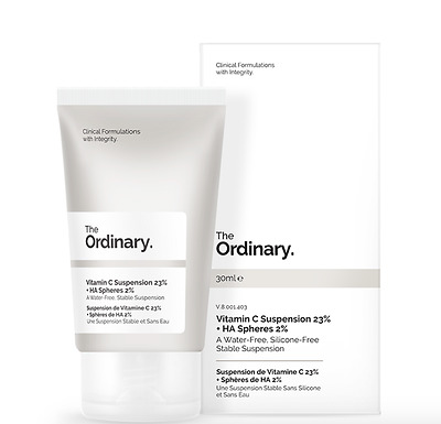 THE ORDINARY Vitamin C Suspension 23% HA Spheres 2% Hydrates Brightens & Smooths