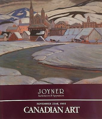 A collection of  40  auction catalogues: Joyner Waddington Canadian Art