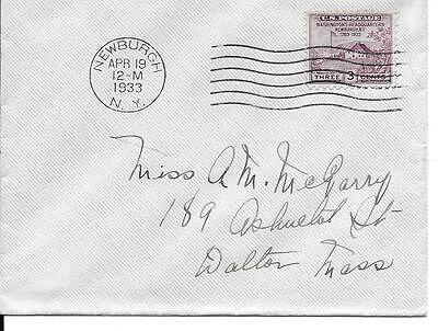 Scott #727 - Washington's Headquarters FDC