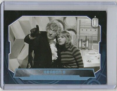 Topps 2015 Doctor Who (173) Blue Parallel base card - Season 8 - #188/199