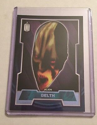 Topps 2015 Doctor Who (70) Purple Parallel base card - Gelth - #40/99