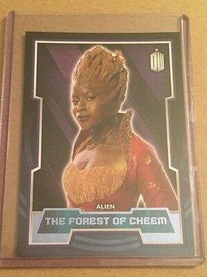 Topps 2015 Doctor Who (69) Purple Parallel card - The Forest of Cheem - #21/99