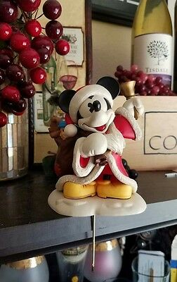 Mickey Mouse w/ Bell DISNEY Christmas Stocking Hanger  Hallmark Vintage Style