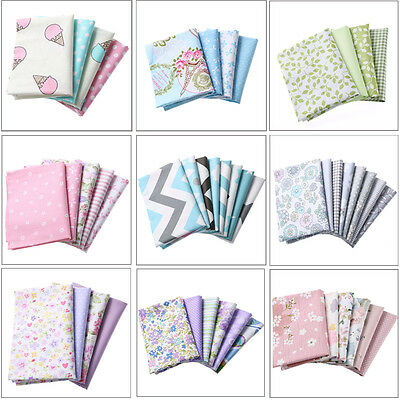 Cute Cotton Fabric Patchwork Textiles Sewing Baby Doll Clothes Pillow DIY Crafts