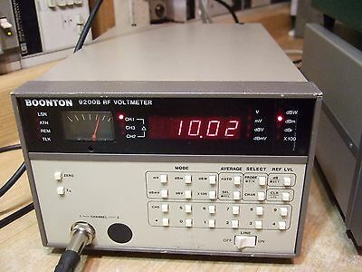 Boonton 9200B RF Voltmeter - Calibrated. In Nice Shape!