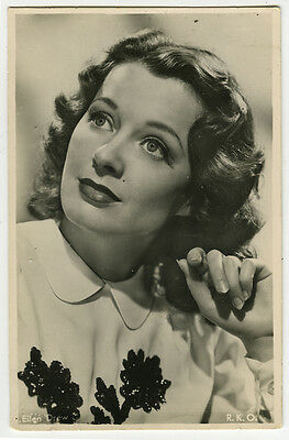 1940's Movie Film Star ELLEN DREW Dutch photo postcard