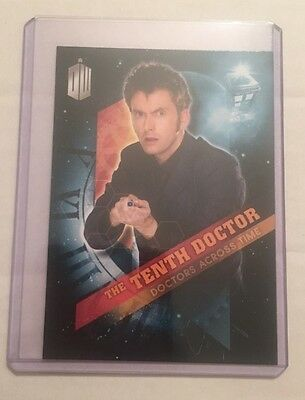 2016 Topps Doctor Who Timeless - Doctors Across Time #10 - The Tenth Doctor