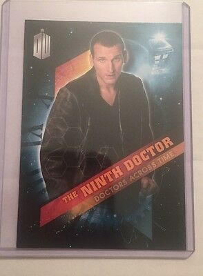 2016 Topps Doctor Who Timeless Doctors Across Time #9 - The Ninth Doctor
